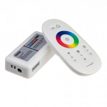 Купить RGB контроллер белый 18 А 216 Вт, (8 кнопок)