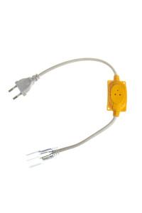 Адаптер питания неона RGB 220в AVT с вилкой