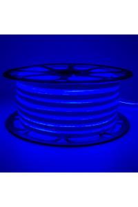 Светодиодный неон 220в синий smd2835 120led/m 12W/m герметичный