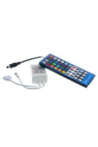 RGBW контроллер 8 А 96 Вт, (IR 40 кнопок)