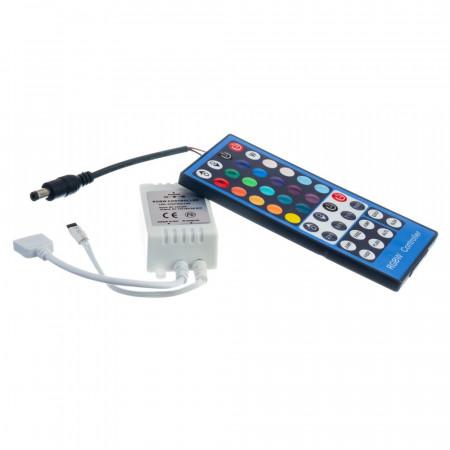 Купить RGBW контроллер 8 А 96 Вт, (IR 40 кнопок)