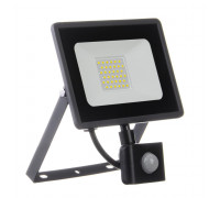 Led прожектор с датчиком движения AVT 30W 6000К IP65